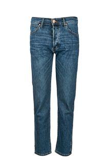 Зауженные джинсы с застежкой на болты Slider Wrangler