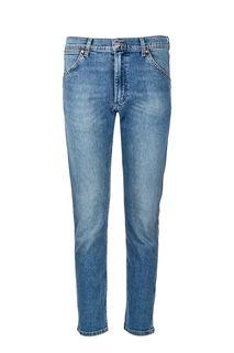 Синие джинсы зауженного кроя 11MWZ Wrangler
