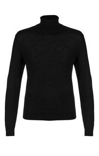 Шерстяная водолазка черного цвета Armani Exchange