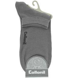 Серые хлопковые носки Collonil