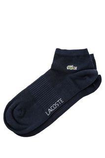 Синие хлопковые носки Lacoste