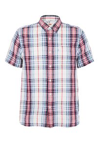 Рубашка с короткими рукавами из льна и хлопка Levis®