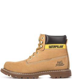 Высокие ботинки из нубука Caterpillar