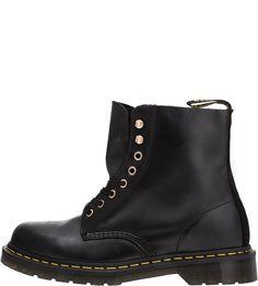 Черные ботинки из гладкой кожи 1460 Pascal Dr. Martens