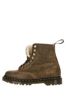 Кожаные ботинки с меховой подкладкой 1460 Pascal Dr. Martens
