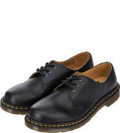 Кожаные ботинки черного цвета Dr. Martens