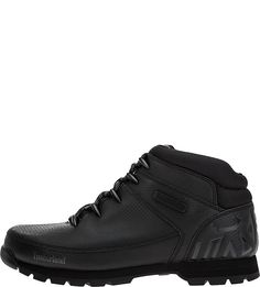 Черные кожаные ботинки Euro Sprint Mid Hiker Timberland
