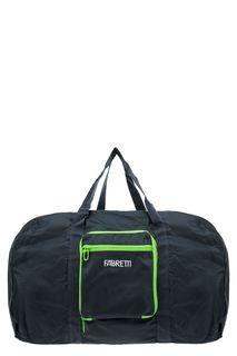 Синяя текстильная сумка в спортивном стиле Fabretti