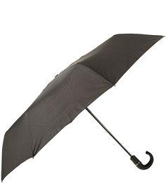 Складной автоматический зонт с куполом в клетку Eleganzza