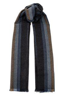 Широкий шарф с добавлением шерсти Fraas