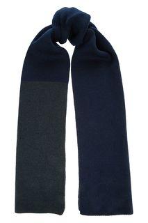 Широкий полушерстяной шарф тонкой вязки Finn Flare