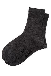 Полушерстяные носки серого цвета Collonil