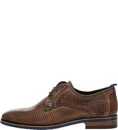 Кожаные туфли дерби коричневого цвета Rehab Footwear