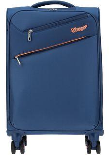 Маленький текстильный чемодан на колесах Verage