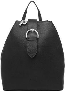 Черный кожаный рюкзак Picard