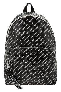 Черный рюкзак с широкими лямками Tommy Jeans