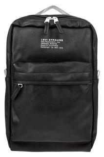 Черный рюкзак на двухзамковой молнии Levis®