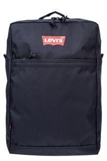 Синий текстильный рюкзак с логотипом бренда Levis®