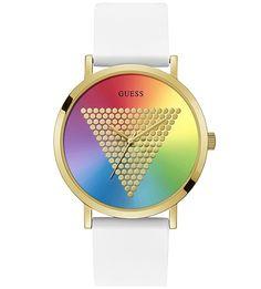 Кварцевые часы с силиконовым ремешком Imprint Guess