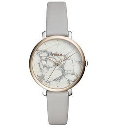 Часы со съемным ремешком из натуральной кожи Fossil