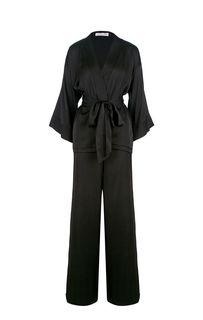 Костюм черного цвета из блузы и брюк Alisia HIT