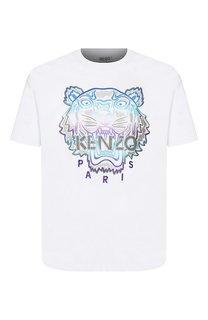 Хлопковая футболка Holiday Kenzo
