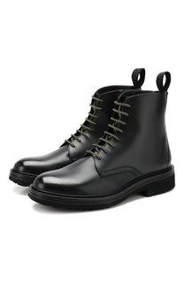 Кожаные ботинки HUGO