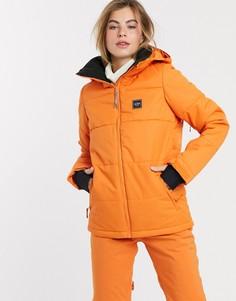 Оранжевая горнолыжная куртка Billabong-Оранжевый