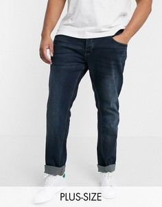 Синие джинсы скинни French Connection Plus-Синий