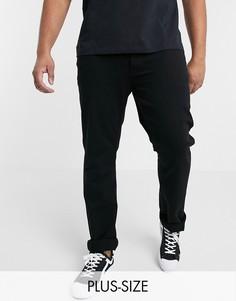 Черные джинсы узкого кроя French Connection Plus-Черный