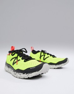 Желтые кроссовки New Balance Running Hierro Trail-Желтый