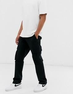 Черные брюки-карго Element - Fort-Черный