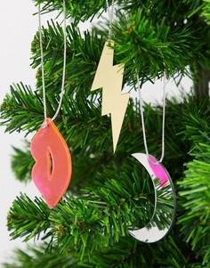 Новогодний набор елочных украшений Monki-Мульти