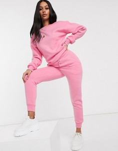 Свободные джоггеры от комплекта с манжетами Public Desire-Розовый