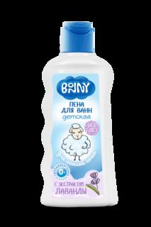Легкая пена для ванн BONNY с натуральным экстрактом лаванды 250мл