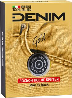 Лосьон после бритья Denim Gold 100мл
