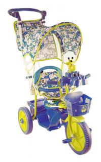 Детский трехколесный велосипед Jaguar (цвет: синий)