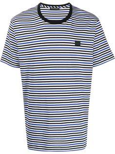 Acne Studios футболка в полоску