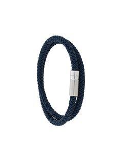 Ermenegildo Zegna плетеный браслет