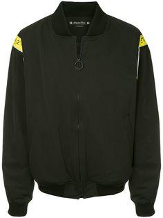 Sasquatchfabrix. куртка-бомбер с контрастными вставками