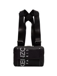 Kenzo нагрудная сумка с логотипом Paris