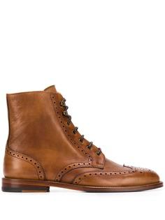 Scarosso ботинки Stefania на шнуровке