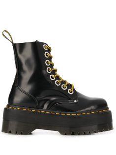 Dr. Martens ботинки на платформе и шнуровке