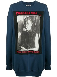 Acne Studios magazine print sweatshirt