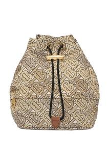 Сумка-мешок из текстиля Burberry