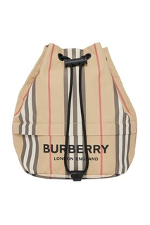 Сумка-мешок в полоску Burberry