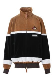 Бархатная спортивная куртка Burberry