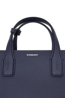 Синяя сумка Banner Burberry