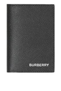 Черная обложка для паспорта Burberry