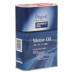 Моторное масло CHEMPIOIL Chevrolet Opel Dexos2 5W-30 1 л